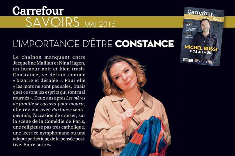 L'importance d'être Constance