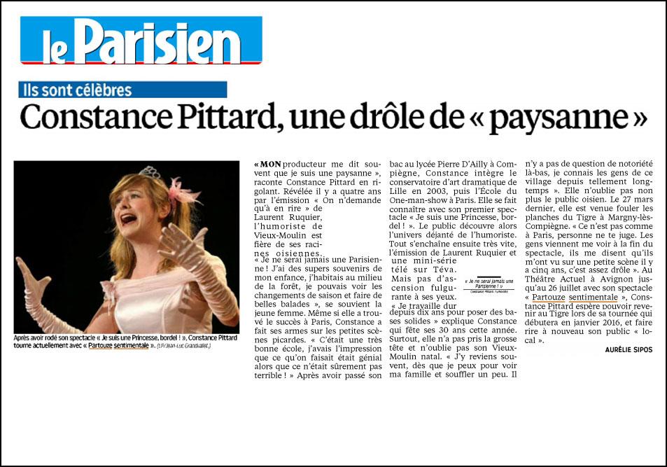 Constance Pittard, une drôle de « paysanne »