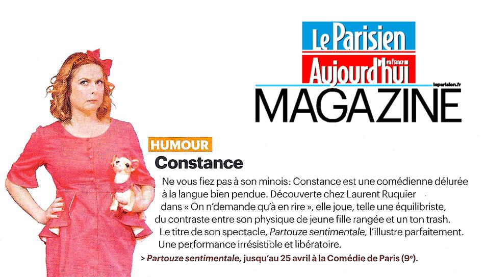Notre coup de cœur : Constance